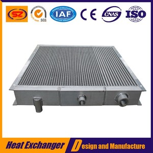 High quality vacuum brazed hot sale china oil cooler with plate fin aluminum