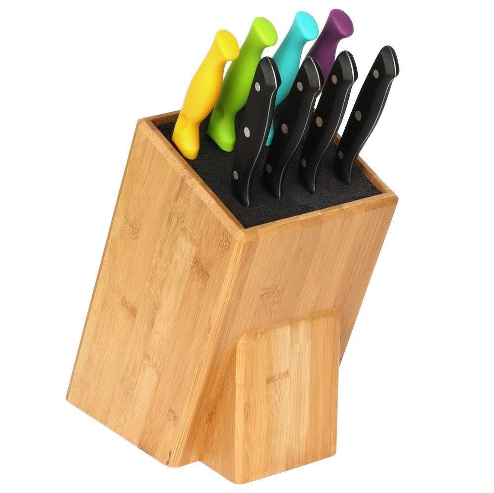 High Quality bamboo knife holder 5