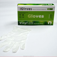 Iglove Disposable vinyl gloves for medical/beauty/nail/salon