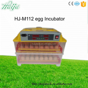 Newest CE capacity 112 chicken eggs automatic chicken egg incubator prices india HJ-M112