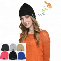 Washable Warm Winter Bluetooth Beanie Hat With Removable Earphone