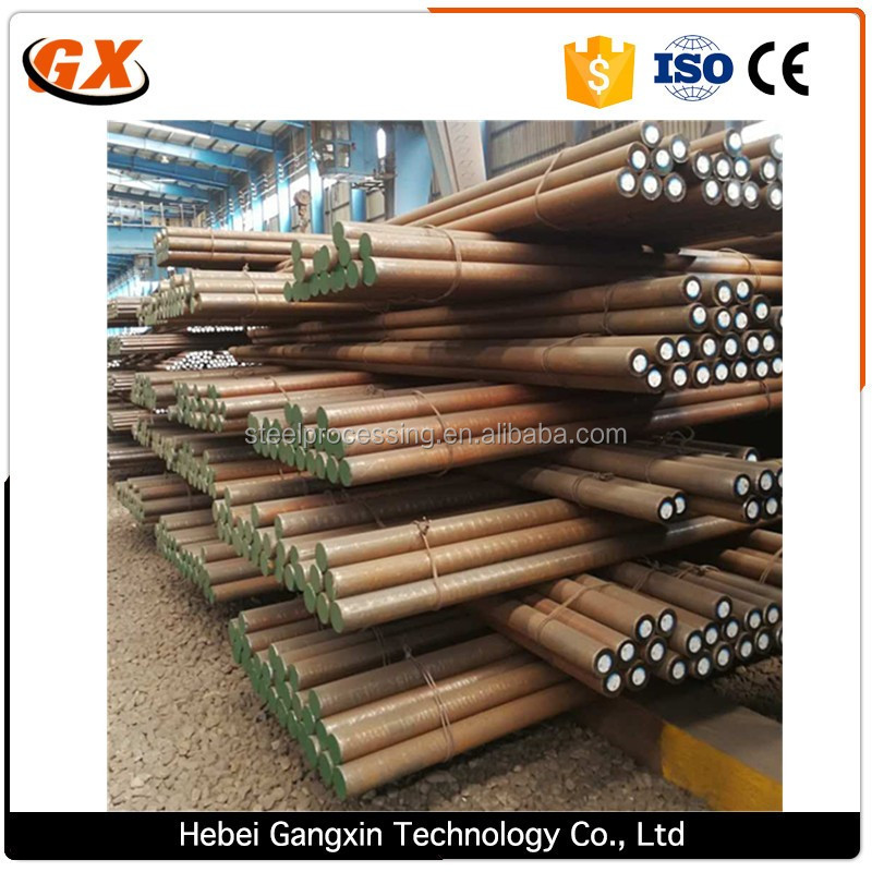 45#polished steel round bar can make into linear shaft and machinery parts