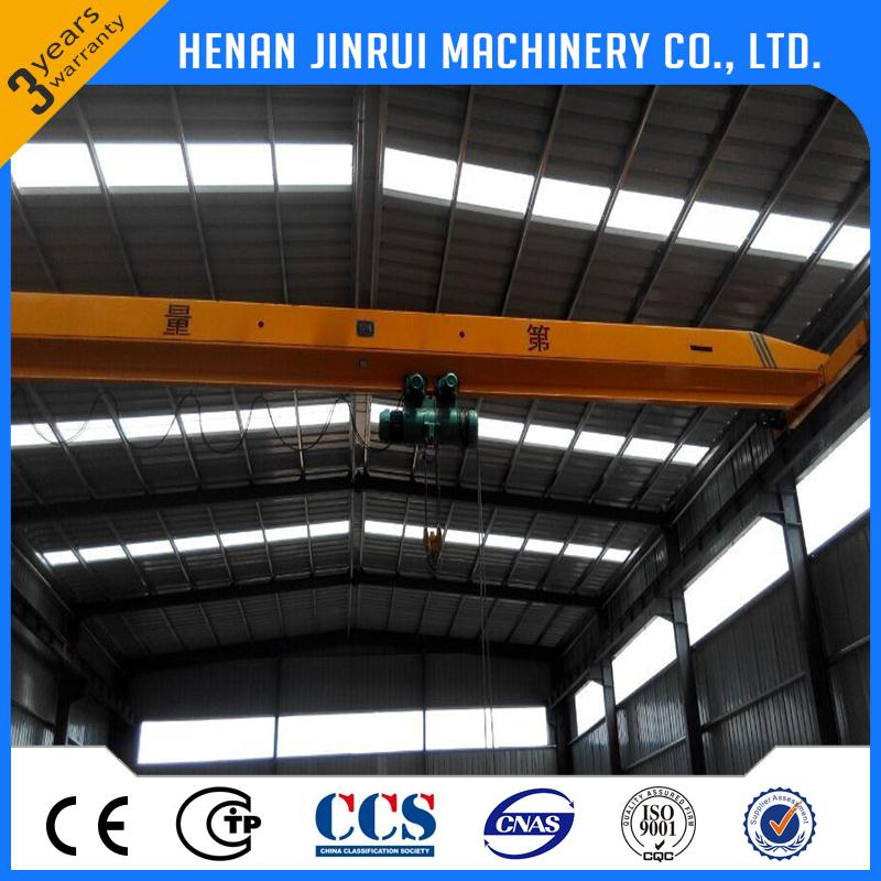 Wireless Remote Control Overhead Crane With Carrier Beam