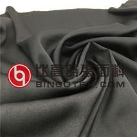 ITY wool stretch dull satin velvet fabric like silk