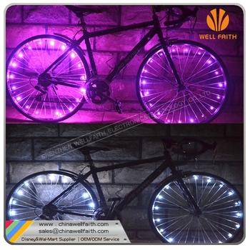 fietswiel led verlichting string fietswiel licht