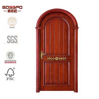 arch interior door antique main door design cherry wood interior door  sc 1 st  Alibaba & Arch Interior Door Antique Main Door Design Cherry Wood Interior ...