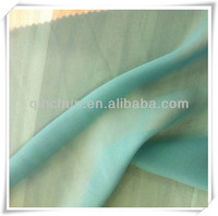 97%polyester 3% spandex ITY wool chiffon stretch fabric for lady dresses, headcaps