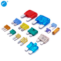 ATY ATC ATN ATO ATM 32V 58V 80V maxi standard medium mini micro2 micro long leg low profile fuse blade type terminal car fuse