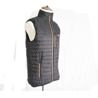 Warm Body Electronic Heated Winer Jacket Factory OEM Clothing With 4pcs Heating Pads Down Vest