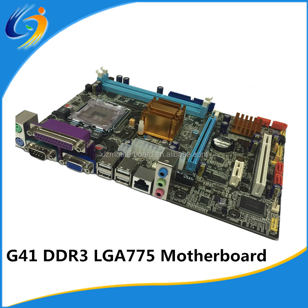 G41 dual socket 775 motherboard for DDR3