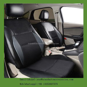PU Leather Auto Car Rear Seat Cover Seat Covers Car Covers Cushion