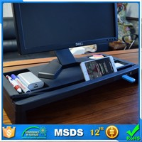 Keyboard Storage Space Smart LCD Monitor Stand with 4 USB Ports