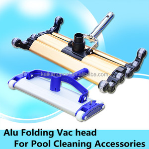 "14"" Alu Folding swimming pool vac head for pool tile cleaning equipment, Pool cleaning vacuum accessories equipment"
