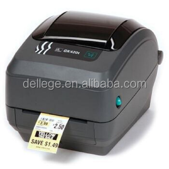 New Fashion Wholesale Portable Desktop GC420T GC420D GK420D GK420T GX420D Barcode Thermal Or Thermal Transfer Label Printer