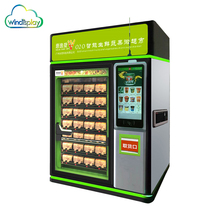 OEM 7 layer automatic chocolate vending machine, automatic milk vending machine, combo vending machine