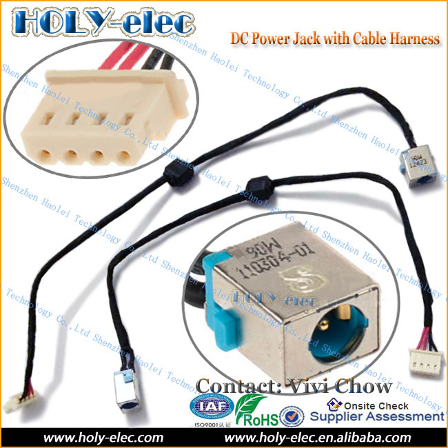 Laptop Dc Power Jack Plug In Connector With Cable Wire For Acer Travelmate on