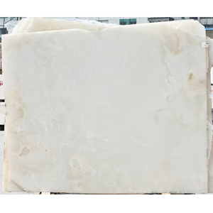Chinese solid surface onyx jade white marble slab