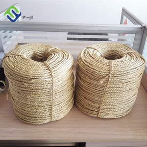 3mm 100% natural sisal twine twisted twine for sale