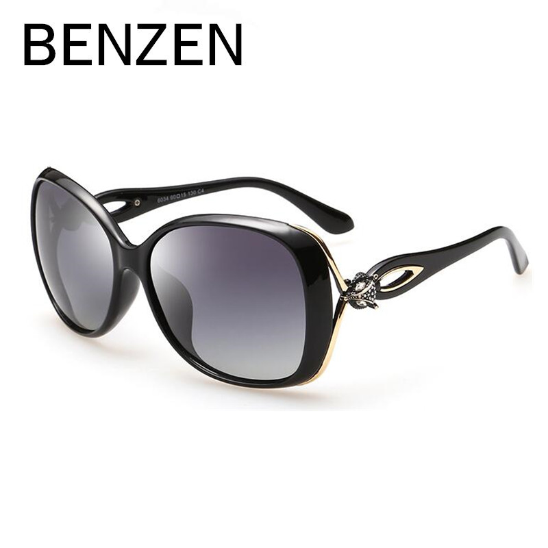 d557b8ca6bab BENZEN Sunglasses Women Polarized Female Sun Glasses For Driving Luxury  Ladies Shades Eyewear Accessories With Case 6179