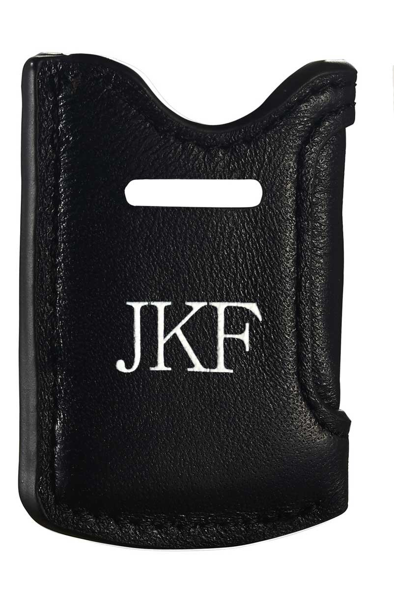 Personalized Visol Leather Lighter Pouch for S.T. Dupont MiniJet Lighters with Free Printing