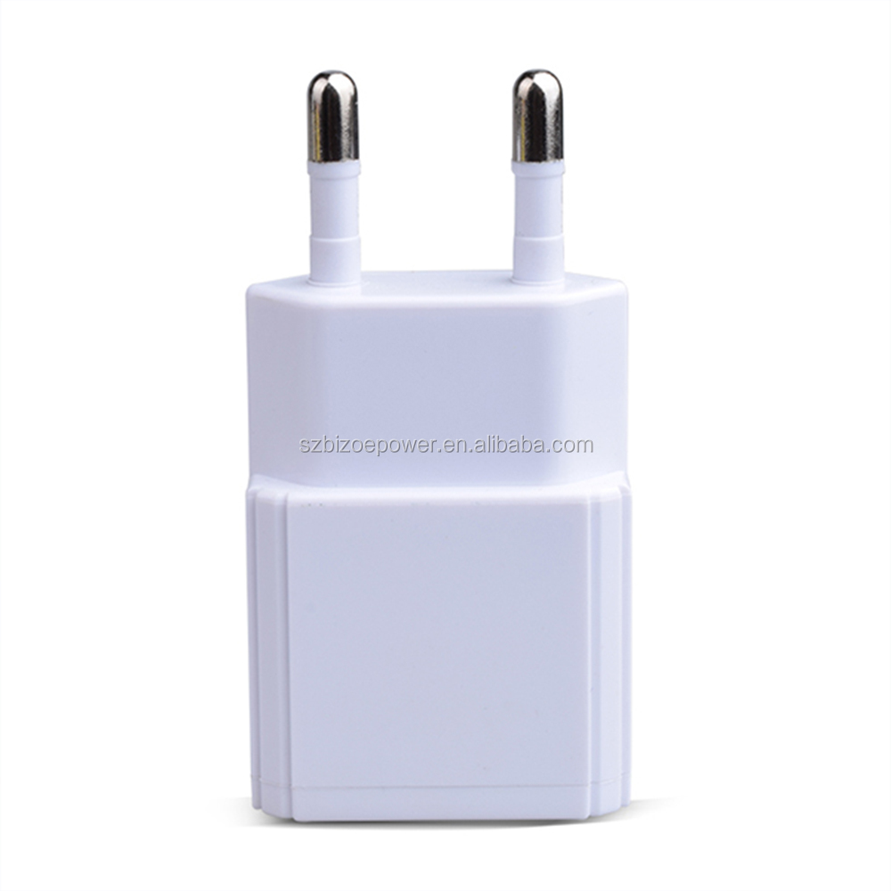 Mobile Accessories korea certificate 5V 500MA 1000MA 1a usb charger kc wall mount charger