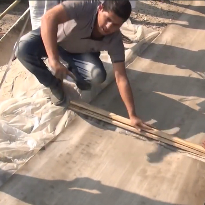 New material of construction Concrete textile Alternatives of cement