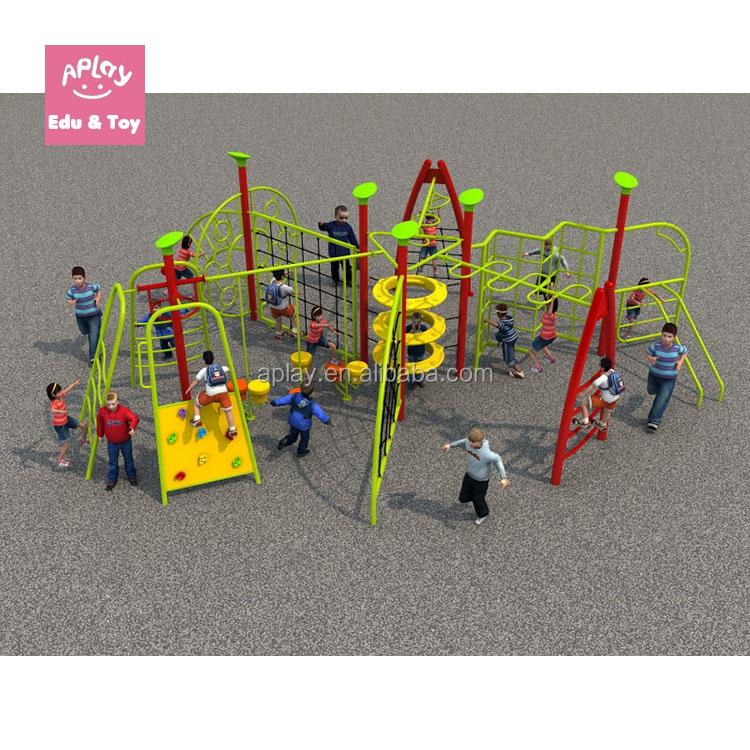 Red de cuerda gimnasio juegos estructura equipo al aire libre de ...