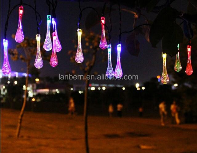 teardrop led summer hanging ball light decoration wireless fairy lights solar tree charge jd sls - Teardrop Christmas Lights