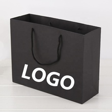 Logo personalizzato Regalo di Imballaggio di Carta Stampata <span class=keywords><strong>Boutique</strong></span> Shopping Bag con Manici