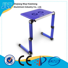 Jinhua portable folding cheap adjustable laptop standing desk table