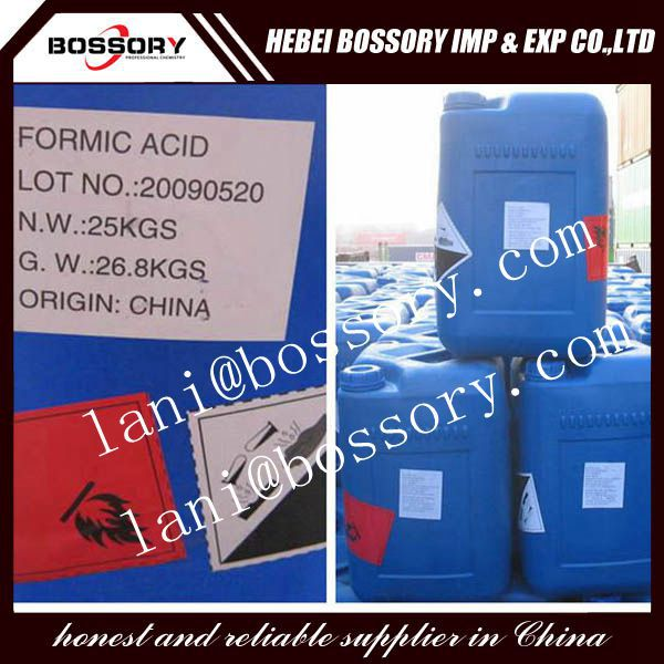 Formic Acid supplier/real factory supply/guarantee good quality and low price