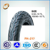 motorcycle scooter tubeless tires 100/90-10 scooter tire