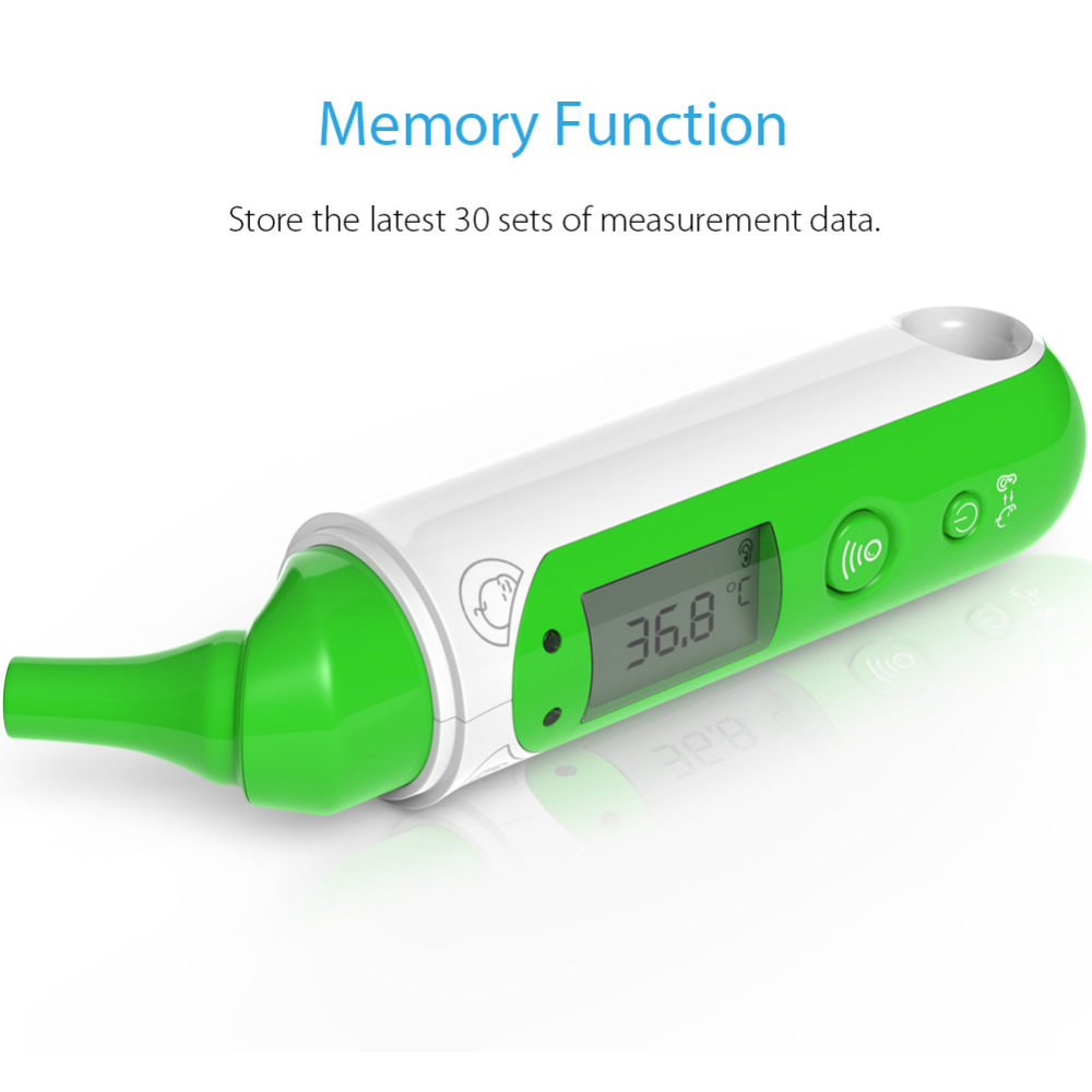 Koogeek Digital Bluetooth Smart Baby-Temperaturmonitor 24-Stunden-Haushalt Wireless Baby Thermometer