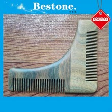 Sandalwood Beard Styling Shaping Template Comb Tool