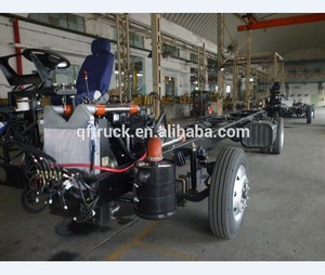 Chinese high quality low price Dongfeng EQ6100K 10m bus chassis