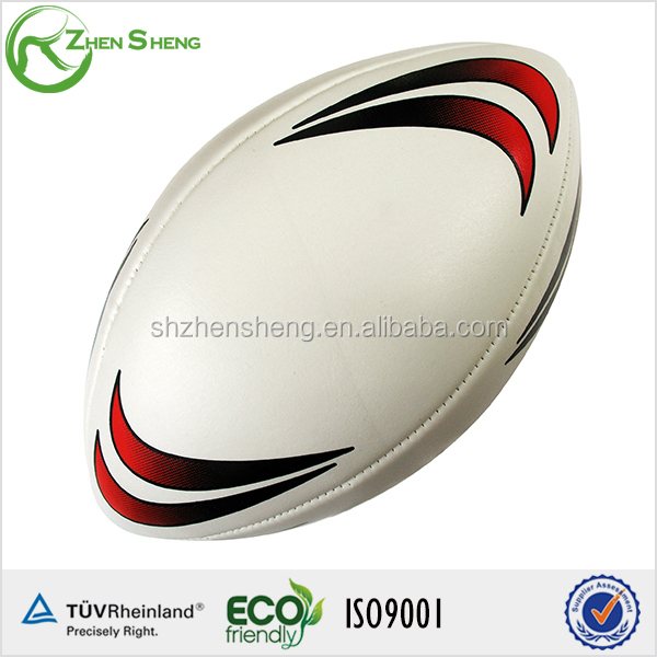 ZHENSHENG top quality cool training rugby ball size 5