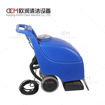 DTJ2A   carpet extractor machine battery floor scrubber dryer runway cleaning machine