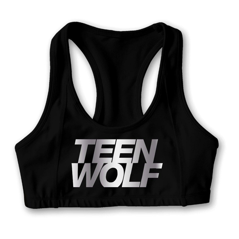Teen Wolf Platinum Logo Women's Oxjwn Yoga Sports Bra