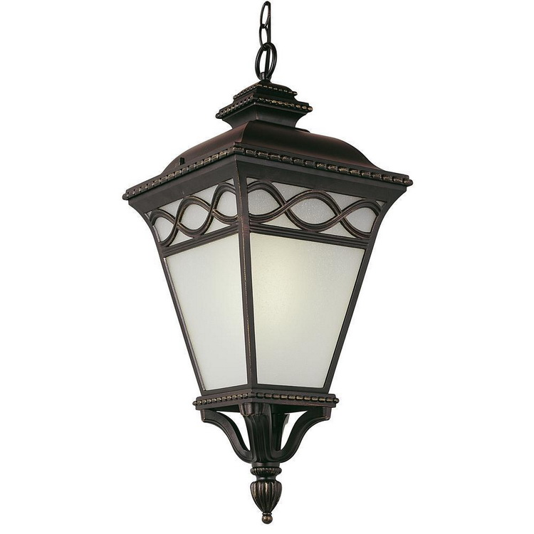 hanging chain lamp outdoor chinese style patio garden pendant lantern light fixture
