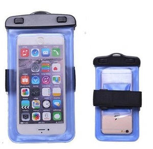 Universal Sealed Pvc Water Proof Cell Phone Case Bag Pouch With Armband