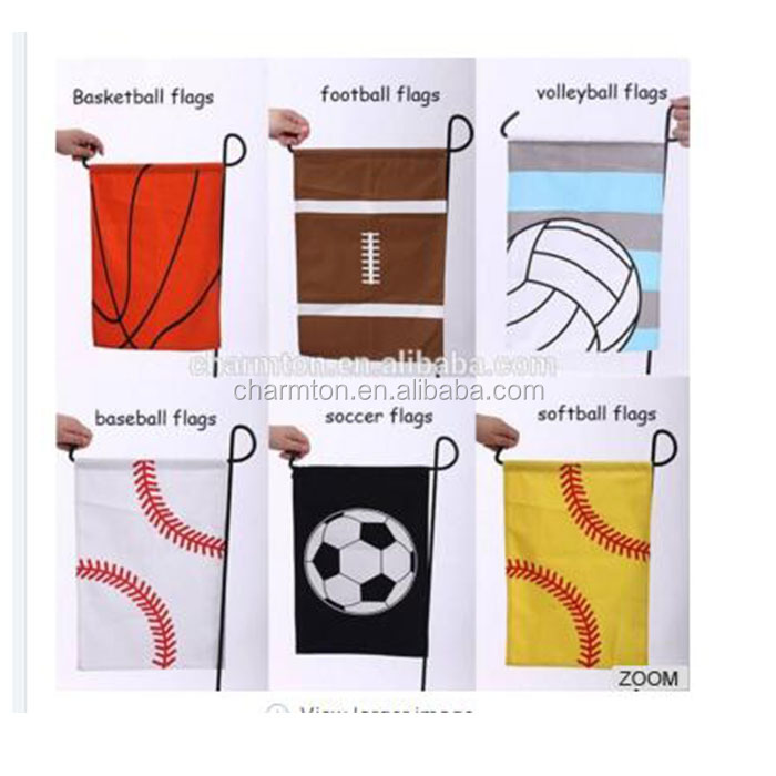 Wholesale New Arrival Personalized Baseball Sports Garden Flag