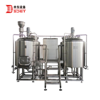 500L Micro Commercial Craft Beer Brewing and Brewery Equipment Pub Beer Production Line