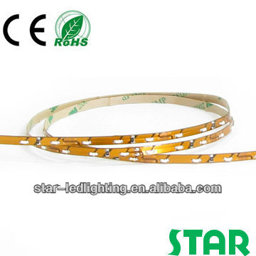 indoor IP20 non-waterproof 335 side-view warm white led flexible ribbon
