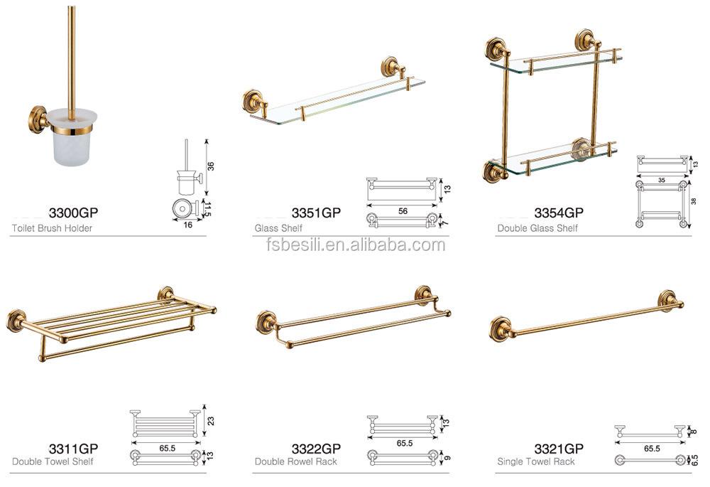 Hotel style gold plated bathroom accessories set dubai 33gp buy accessories bathroom gold - Bathroom accessories dubai ...
