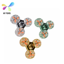 2018 hot sell toys for kids Flying LED Lights Spinner
