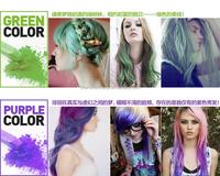 Wholesale 6color Temporary Hair Color Dye Chalk Hair Chalk Pen ...