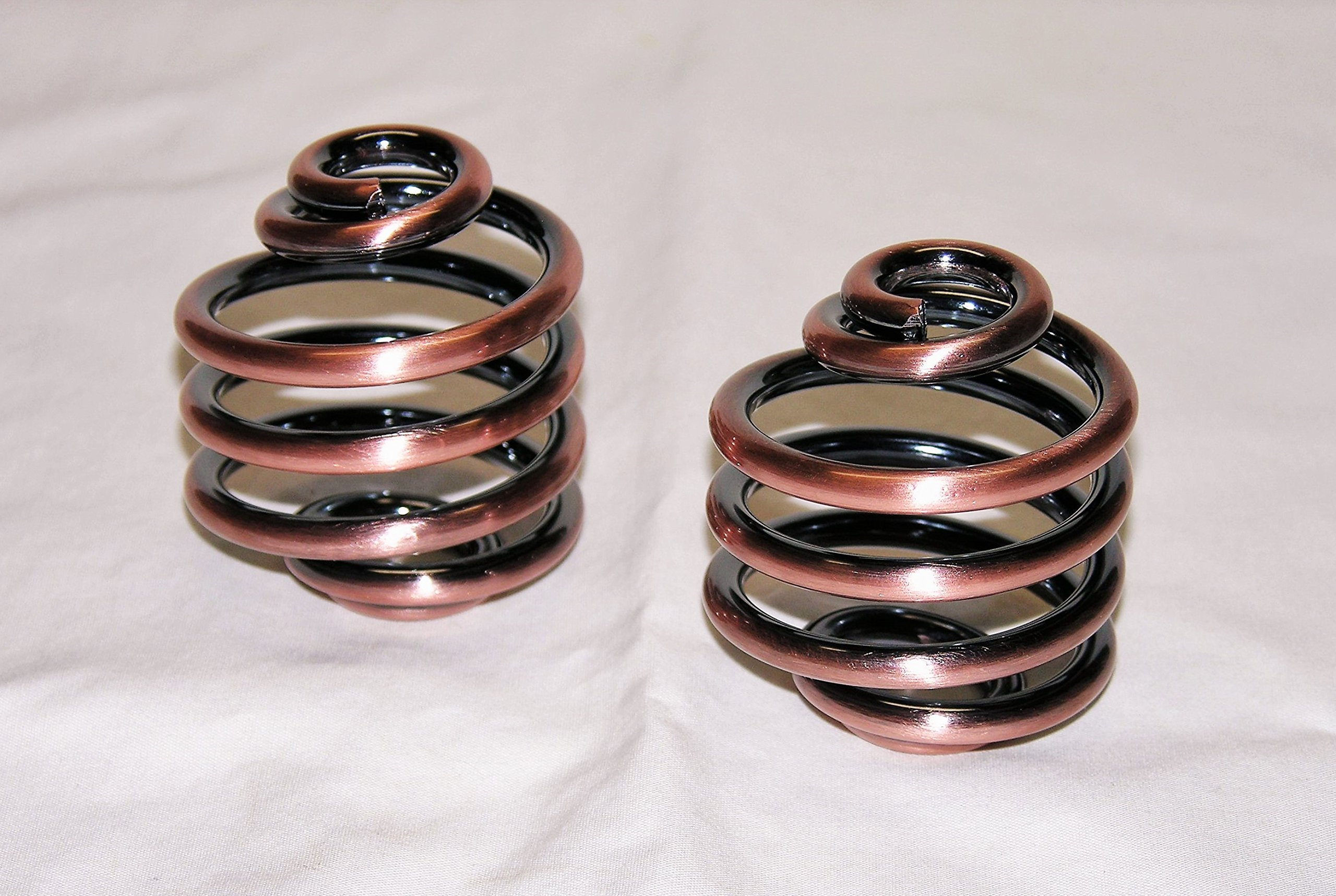 Mr Luckys Universal Fit Antique Copper 2 inch Solo Seat Springs for Harley, Bobber, Vintage, Retro, Custom.