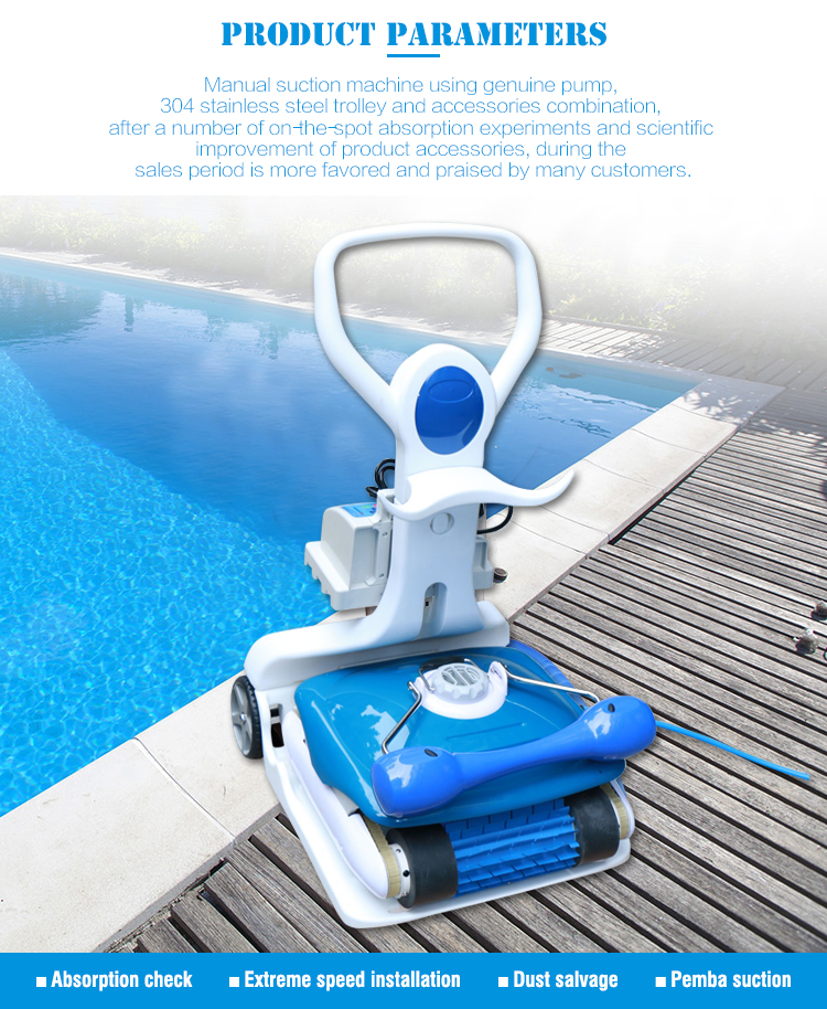 Swimming Pool Automatic Cleaning Machine