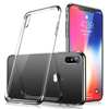 VMAX Transparent Clear Soft TPU Cell Phone Case Back Cover for iPhone X 10 Support Wireless Charging