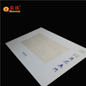 Silk Printing Acrylic Front Panel for Smart Home System